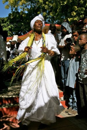 Manbo in Haiti